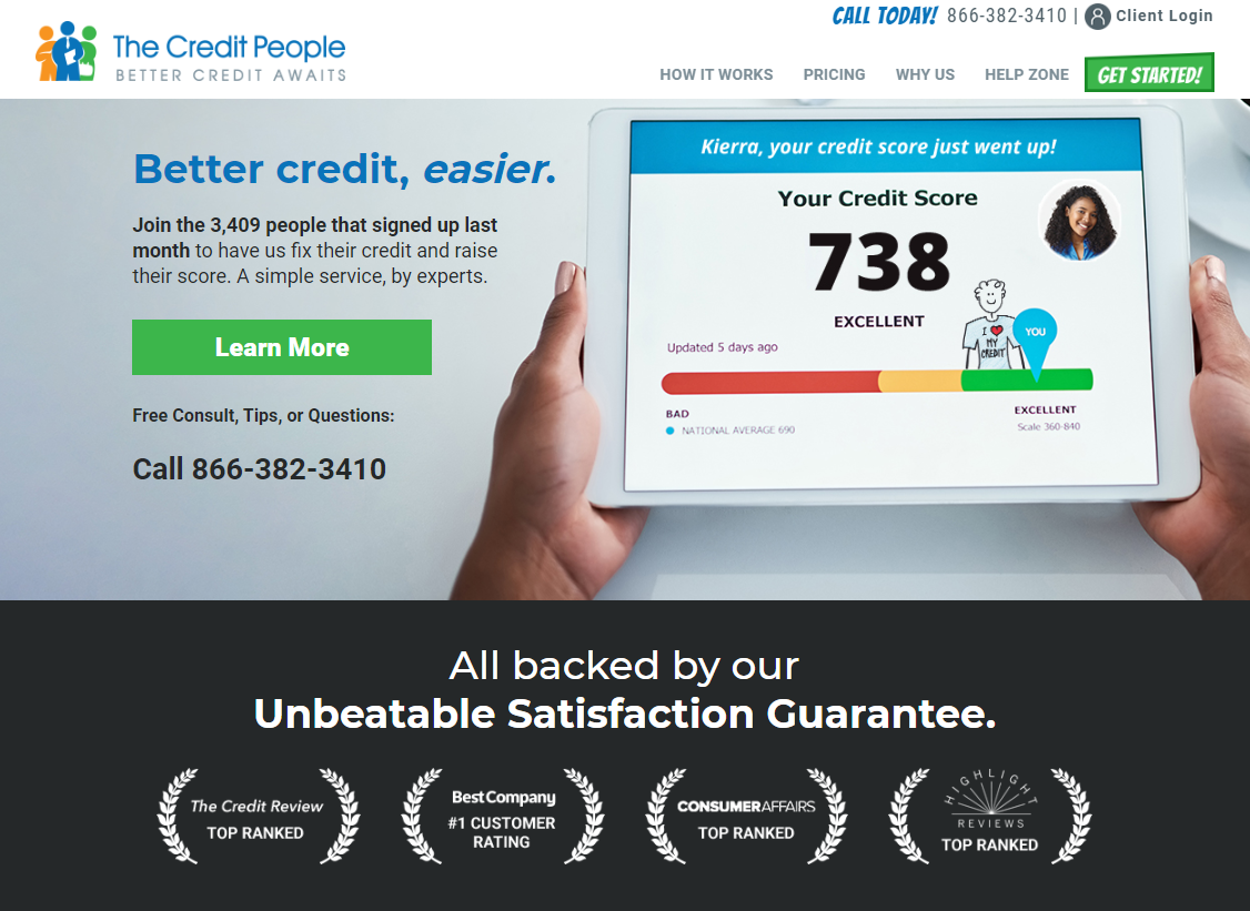 The Credit People Website